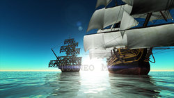 CG  Pirate ship120516-009