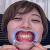 [Teeth fetishism] I observed the teeth of Haruka Haru!