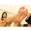Mukai Ai-chan torture the perverted M man and ejaculate! [Foot torture documentary]