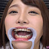 [Teeth fetishism] I observed the teeth of Momo Kato!