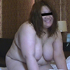 The body is tied up and the masturbation excitement does not stop The plump big breasts wife hungry for the cock!