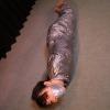 Haru Sakurano - Mummification - Leotard Girl Mummified with Duct Tapes - Chapter 1