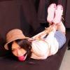 Namie Hatanaka - A Mountain Chick Ballgagged and Hogtied - Full Movie