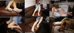 Street legs&socks snaps photos + movie Akane