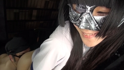 [Masked cosplay] x [Aoi Ichigo] + [M man] complete with buttocks Mask girl and M man master-slave love MASK00006e4