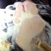 【纵向动画】美女的食物崩溃※泡芙奶油※来自下方④FETK00469