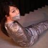 Haru Sakurano - Mummification - Leotard Girl Mummified with Duct Tapes - Full Movie